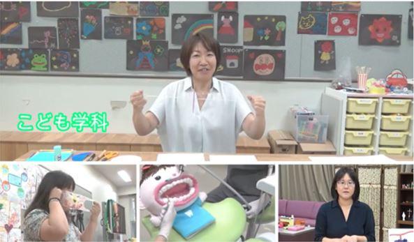 こども学科 名倉一美先生と、ぶんぶんゴマを作ってみよう。