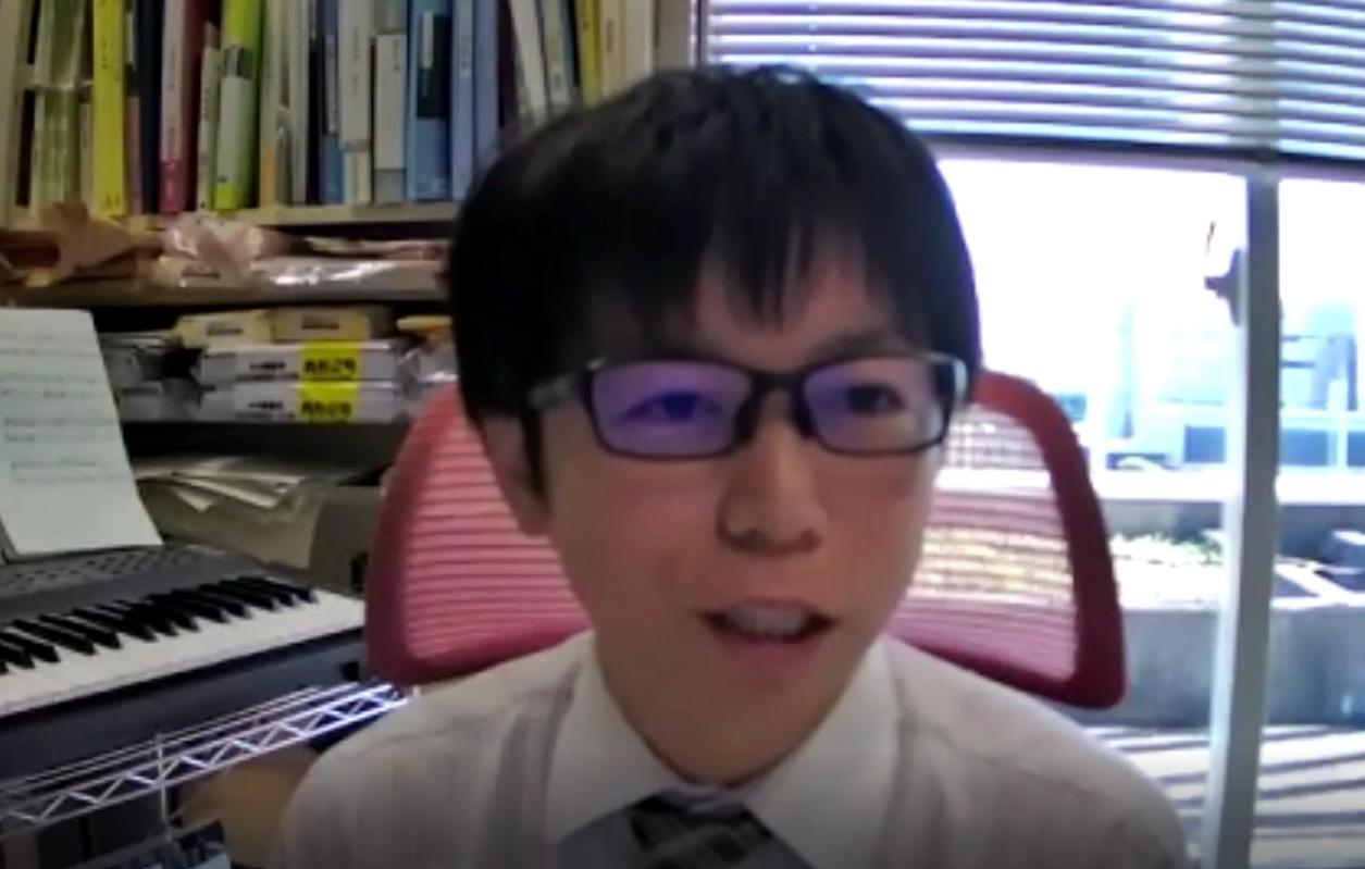 """山本先生の""""音楽は人を幸せにするためにあるもの""""というお言葉は、皆さんの胸に響いたようです。"""